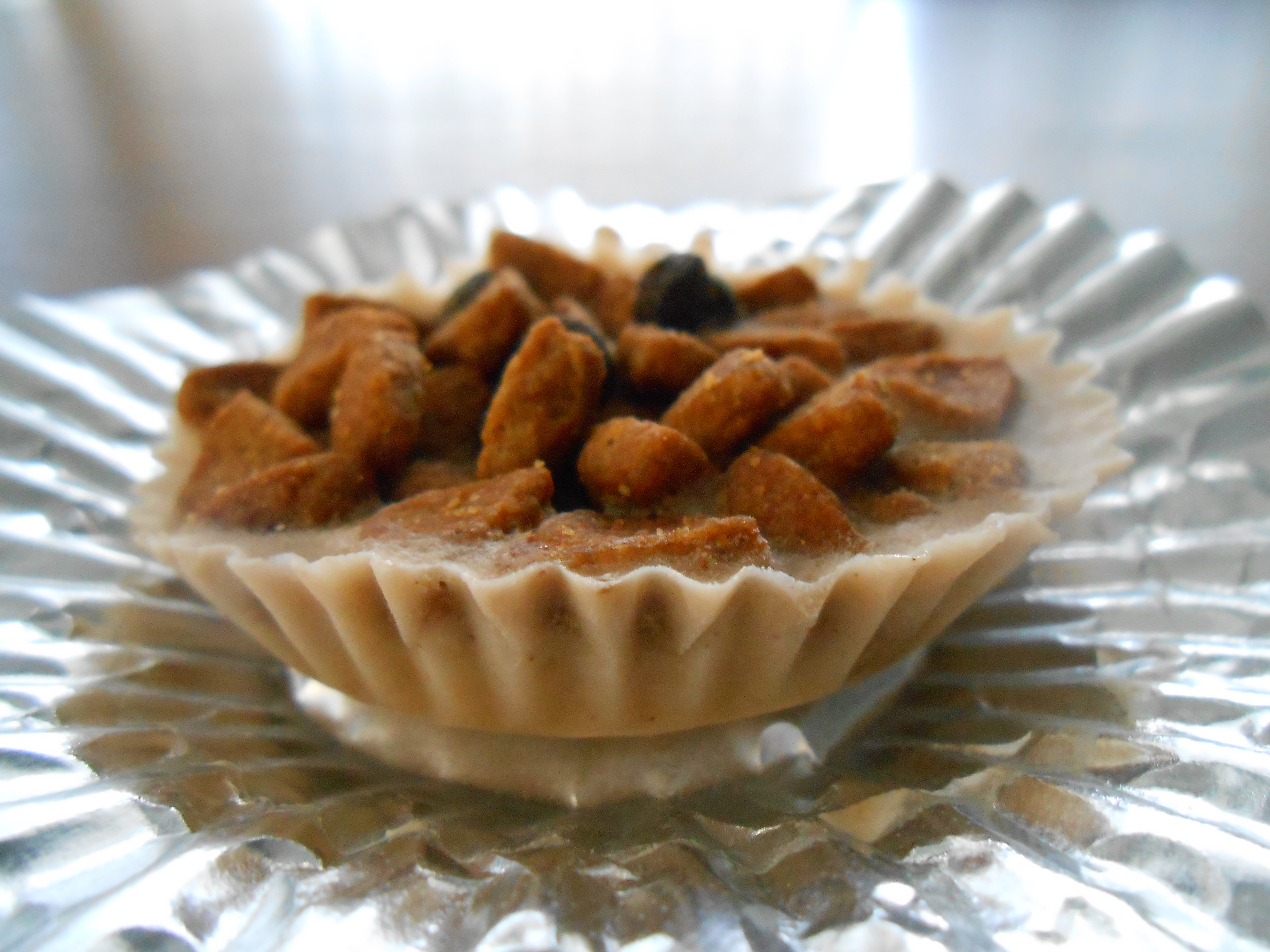 Morkie pawsitively good life apple banana smash peanut butter cups topped with kibble nvjuhfo Image collections